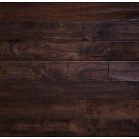 Паркетная доска Brand Wood Гевея BROWN CLASSIC гладкая