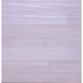 Паркетная доска Brand Wood Гевея SNOW WHITE ETERNITY состаренная
