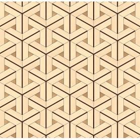 Паркет художественный геометрический SWX 1310