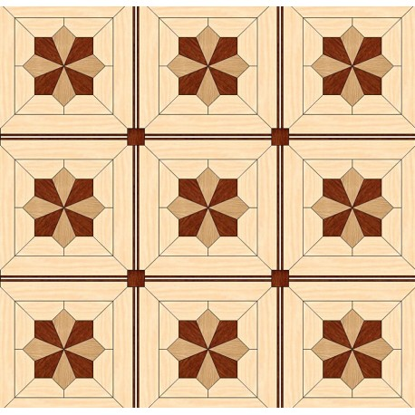 Паркет художественный геометрический SWX 1312