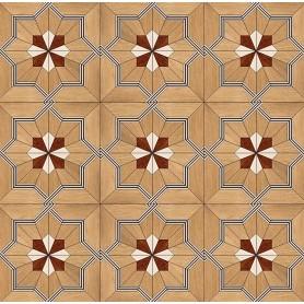 Паркет художественный геометрический SWX 1316
