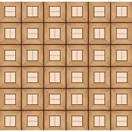 Паркет художественный геометрический SWX 1331