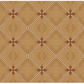 Паркет художественный геометрический с инкрустацией SWX 1391