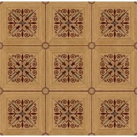 Паркет художественный геометрический с инкрустацией SWX 1392