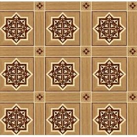 Паркет художественный геометрический с инкрустацией SWX 1393