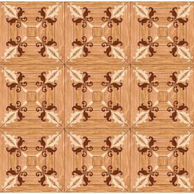 Паркет художественный геометрический с инкрустацией SWX 1395