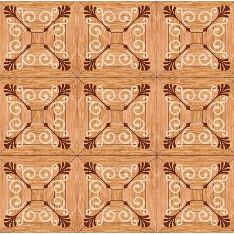 Паркет художественный геометрический с инкрустацией SWX 1399