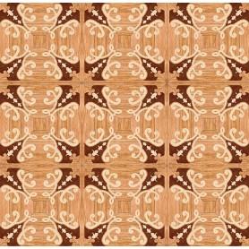 Паркет художественный геометрический с инкрустацией SWX 1400