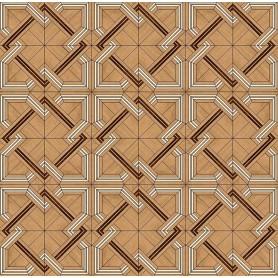 Паркет художественный геометрический SWX 300