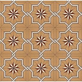 Паркет художественный геометрический SWX 1381