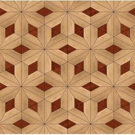 Паркет художественный геометрический SWX 302