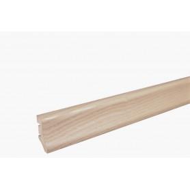 Плинтус Ясень белый матовый лак 40мм х 20мм х 2200мм