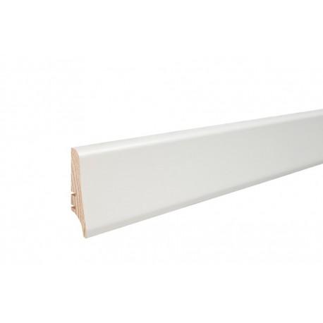 Плинтус белый окрашеный 58мм х 20мм х 2200мм