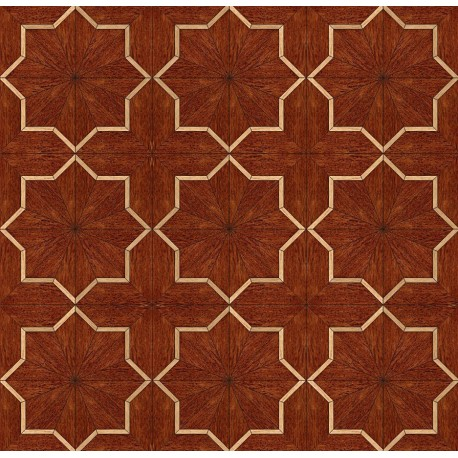 Паркет художественный геометрический SWX 1342B