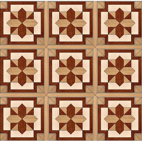 Паркет художественный геометрический SWX 1362