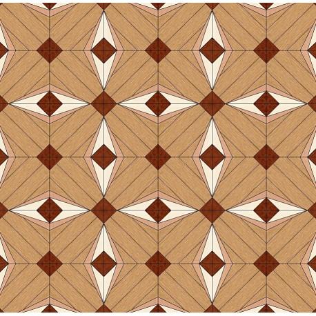 Паркет художественный геометрический SWX 1369