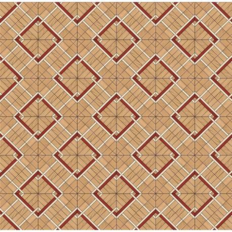 Паркет художественный геометрический SWX 1378