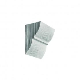 Декоративная консоль Рустик EQ 017 classic белая 6х9см