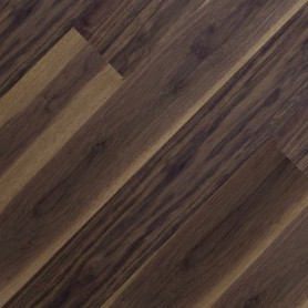 Однополосная паркетная доска Serifoglu Американский Орех Люкс+Стандарт 126 мм