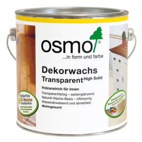 Универсальное цветное масло Osmo DEKORWACHS TRANSPARENT, 2,5л