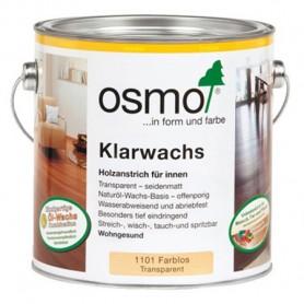 Масло с воском Osmo для твердых пород древесины KLARWACHS, 2,5л