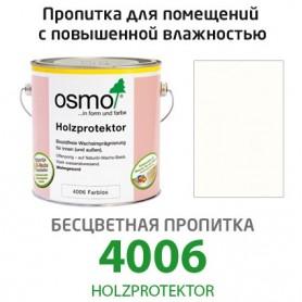 Бесцветная пропитка Osmo HOLZPROTEKTOR 4006, 2,5л