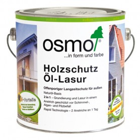 Защитная лазурь Osmo для древесины HOLZSCHUTZ-LASUR, 2,5л