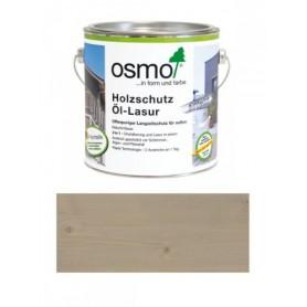 Защитное масло-лазурь Osmo с эффектом серебра HOLZSCHUTZ ÖL-LASUR SILBER EFFEKT, 2,5л