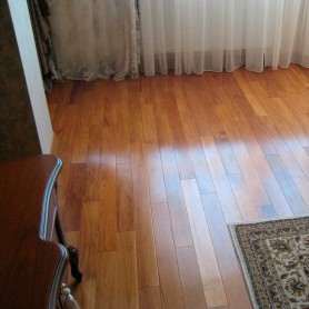 Тик Brand Wood SUMATRA Натуральный (желтый) 18см*120см