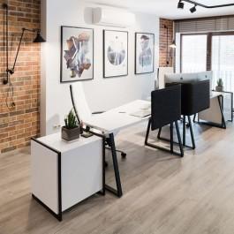 Виниловая плитка для офиса