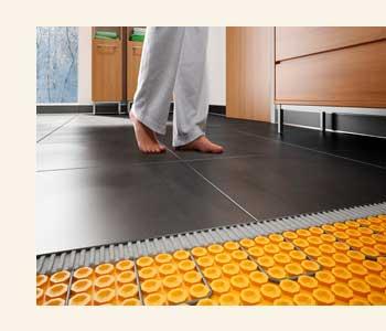 виниловая плитка на теплый пол