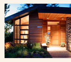 деревянная отделка фасадов