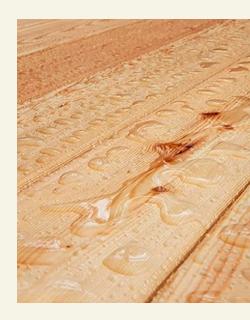покрытие маслом террасной доски