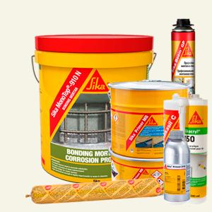 строительная химия материалы sika в украине